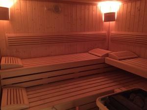 Sauna im Keller für alle Gäste nutzbar