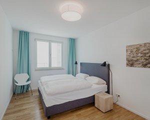 Schlafzimmer 1 Strandhaus Seeblick Wohnung 11