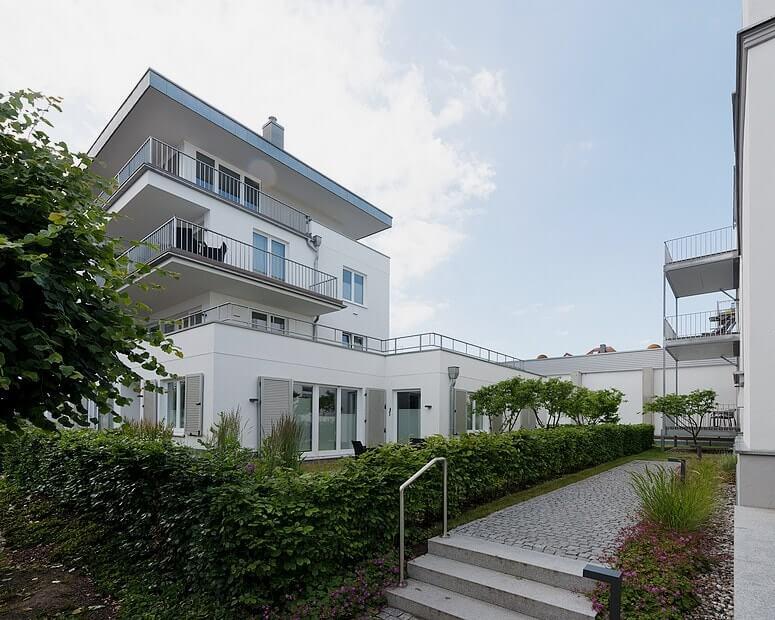 Strandhaus Seeblick Eingang