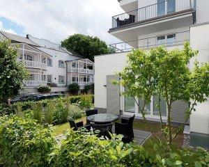Garten der Wohnung 11 Strandhaus Seeblick