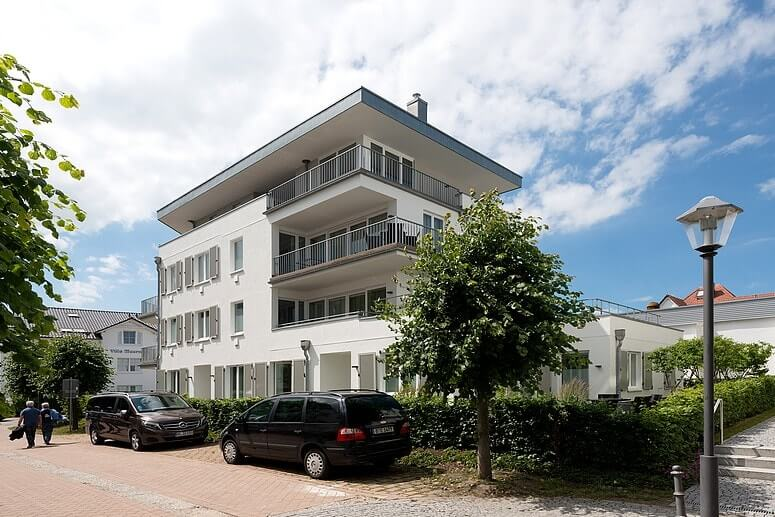 Ansicht Strandhaus Seeblick Binz