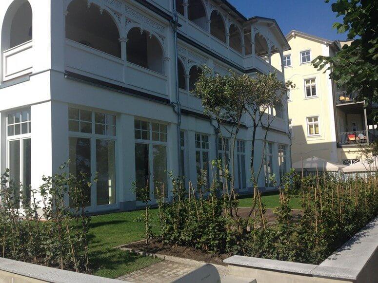 Villa Seeblick Garten