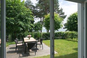 Garten und Terrasse Ferienwohnung 03