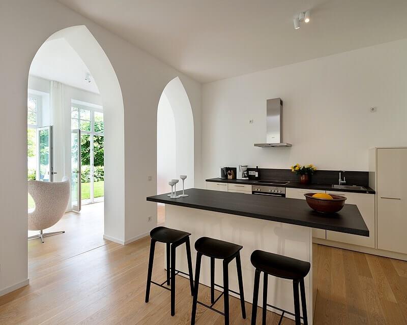 Küche und Essbereich Wohnung 03