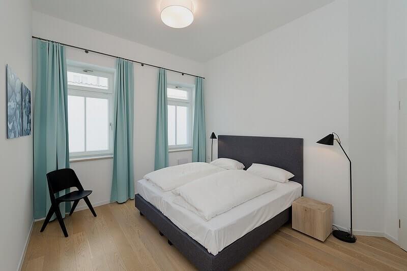 Helles Schlafzimmer 2 Wohnung 03