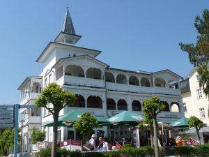 Villa Seeblick Frontansicht von der Promenade