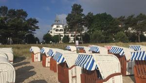 Villa Seeblick Ferienwohnungen: Direkt am Strand im Ostseebad Binz