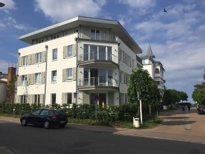 Villa und Strandhaus Seeblick an der nicht befahrbaren Goethestraße