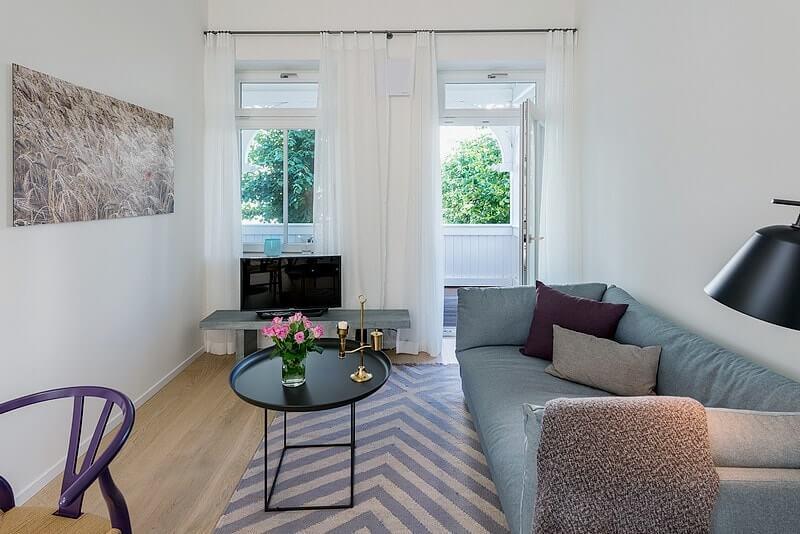 wohnzimmer-villa-seeblick-binz-wohnung01 Ferienwohnung 01