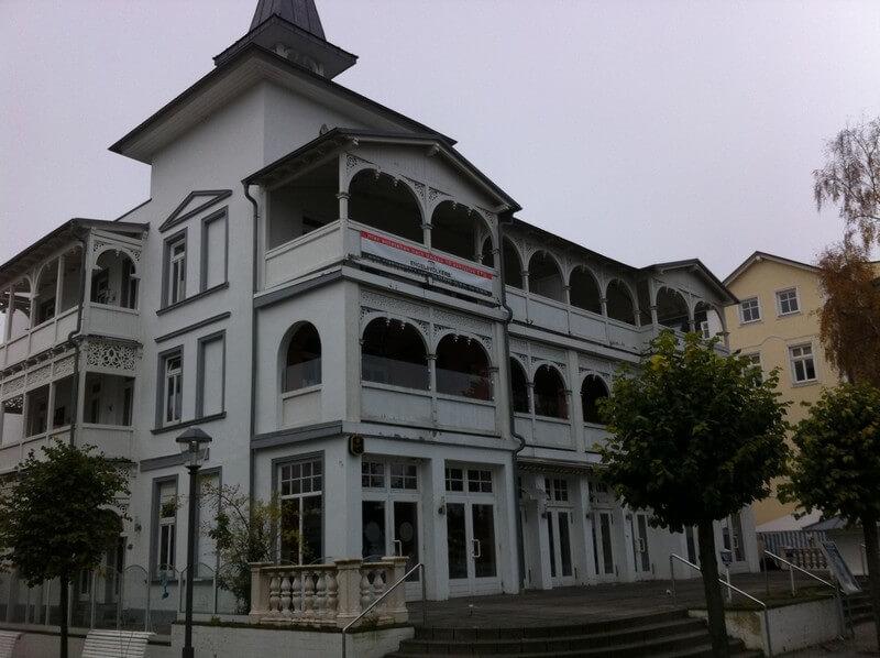 Villa Seeblick Binz vor der umfassenden Renovierung von 2012 bis 2014