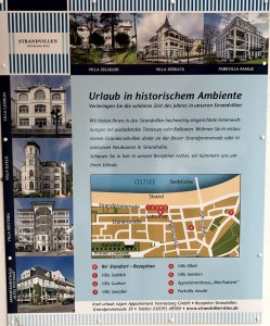 Lageplan Rezeption STRANDVILLEN BINZ und Villa Seeblick Binz und Strandhaus Seeblick