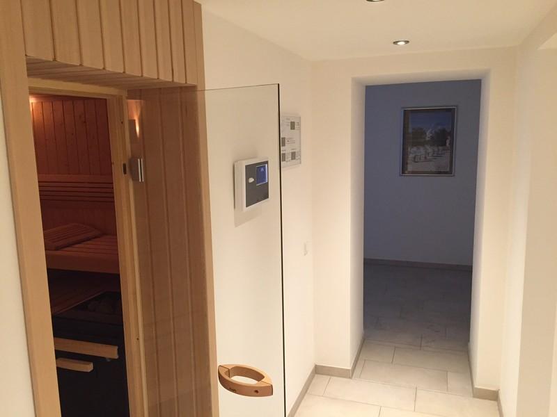 Saunabereich Villa Seeblick Binz